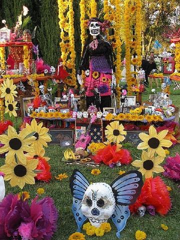 tradiciones mexicanas dia de muertos celebracion