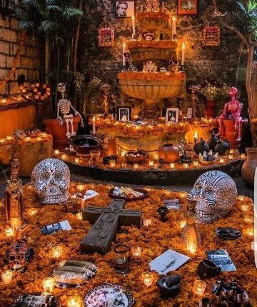 tradiciones mexicanas dia de muertos festividad