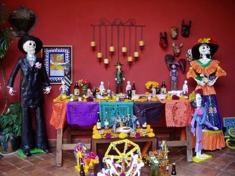 tradiciones mexicanas dia de muertos imagenes