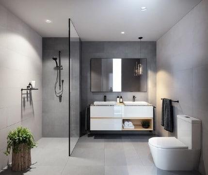baños remodelados pequeños ideas