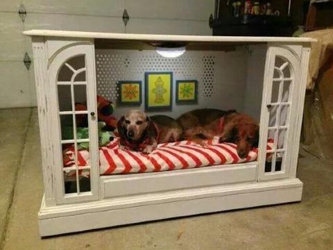 casas para perros de madera baratas