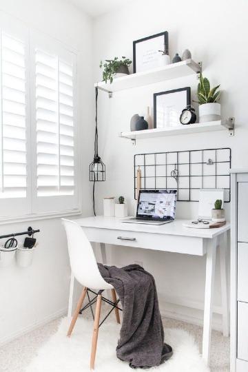 como decorar oficinas pequeñas en casa
