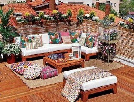 como decorar terrazas en azoteas pequeñas