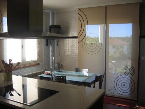 Dise os originales de cortinas para puertas de cocina - Cortinas para puertas de cocina ...