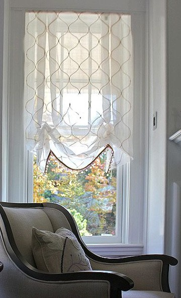 cortinas para ventanas pequeñas de salas