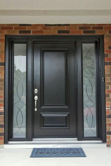 diseños de puertas de madera elegantes