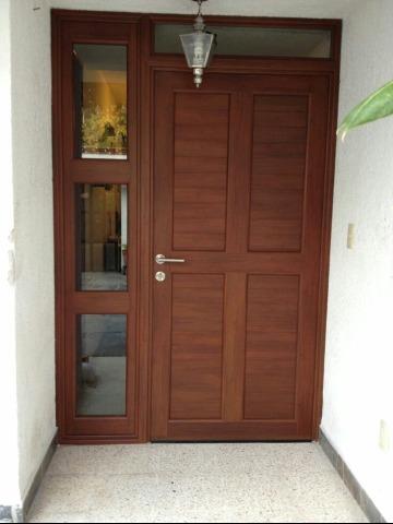 Diversos elegantes dise os de puertas de madera - Puertas de entrada madera ...