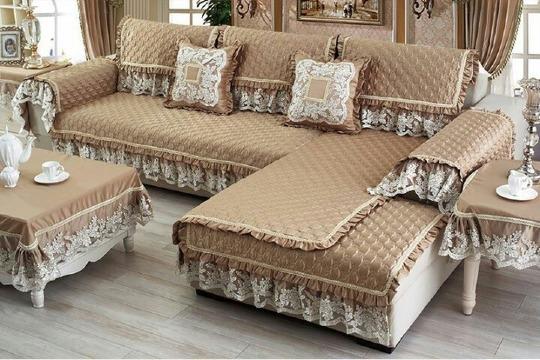 forros de muebles de sala elegante