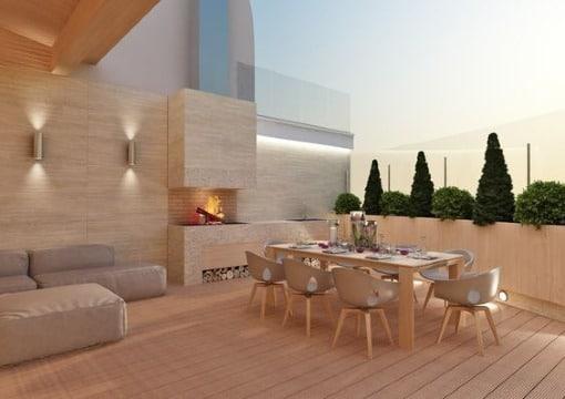 imagenes de diseños de terrazas de casas