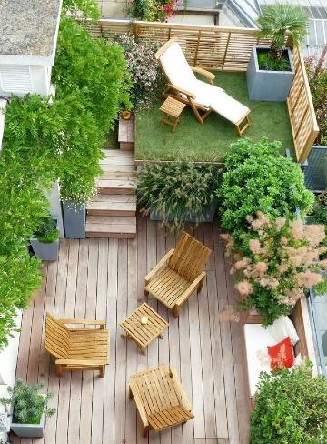 imagenes de terrazas en azoteas pequeñas