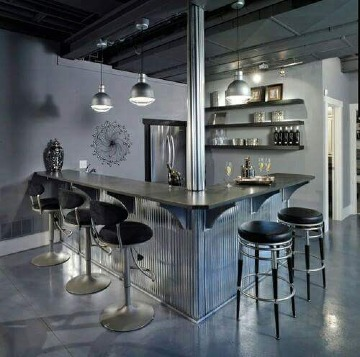 modelos de bares modernos para departamentos