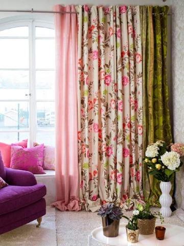 modelos de cortinas de tela para casas