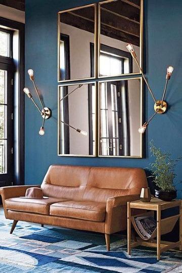 modelos de espejos para sala elegantes