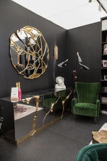 modelos de espejos para sala modernos
