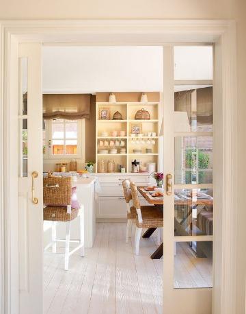 modelos de puertas para entrada de cocina