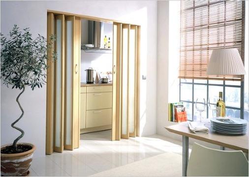 puertas para entrada de cocina pequeña