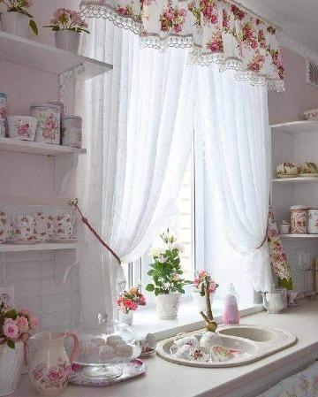 Ideas en tipos de cortinas para cocina y otros espacios