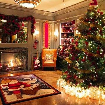 casas decoradas en navidad 2018