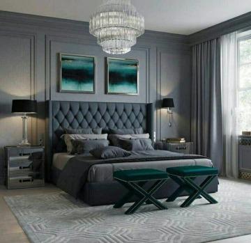 colores para cuartos de parejas elegantes