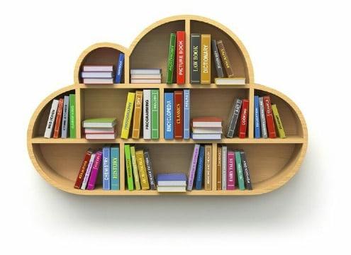 crestivas repisas de madera para libros