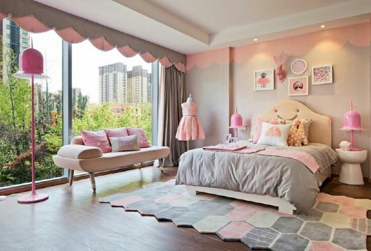 cuartos decorados para niñas modernos