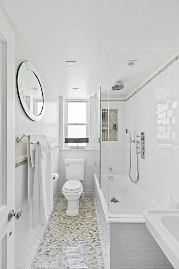 decoracion de baños pequeños con tina