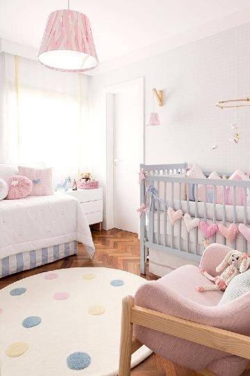 decoracion de cuarto de bebe pequeño