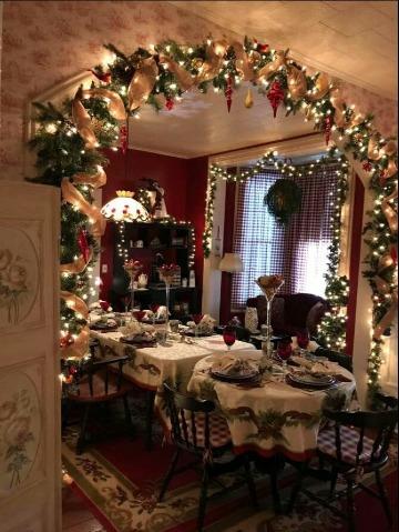 fotos de casas decoradas en navidad