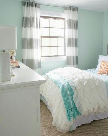 fotos de colores para dormitorios pequeños