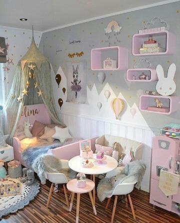 fotos de cuartos de niñas bonitos