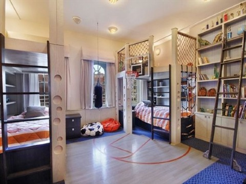 ideas para cuartos de niños modernos