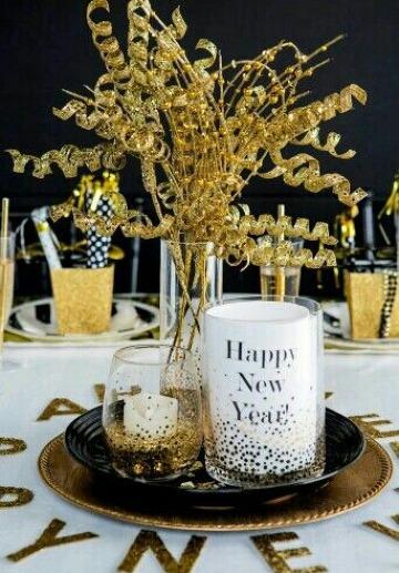 adornos para año nuevo