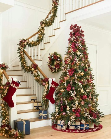 imagenes de casas decoradas en navidad