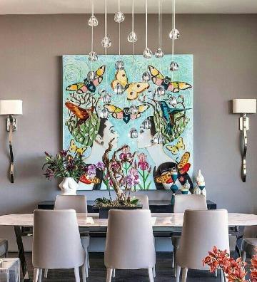 Ideas en cuadros decorativos para comedor 2019 - Como decorar mi cuarto