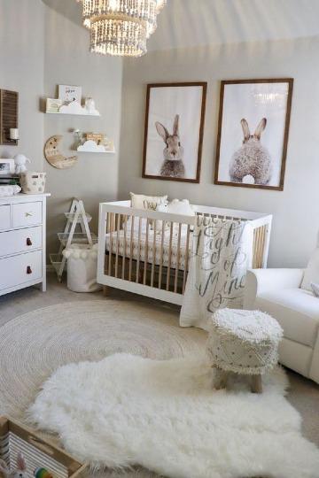 imagenes de decoracion de cuarto de bebe