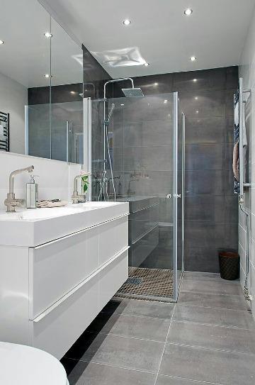 baños con cristal templado modernos