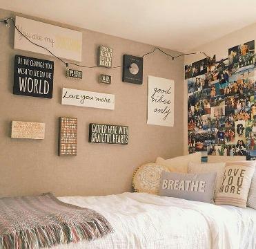 cuadros para dormitorios juveniles de chica