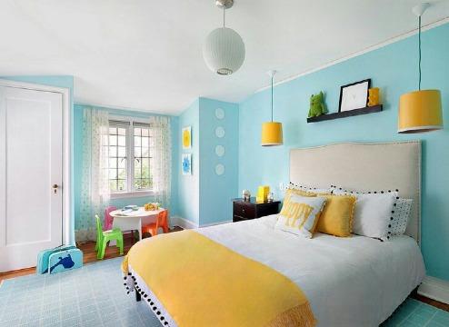 decoracion con colores pasteles para cuartos