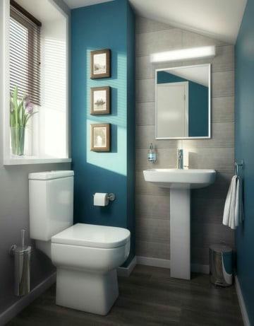 fotos de cuadros para decorar baños