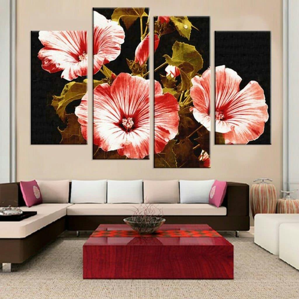 imagenes de cuadros de flores bonitos