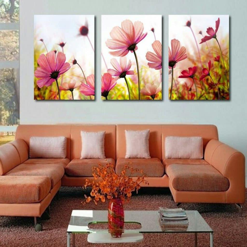 imagenes de cuadros de flores para adornar