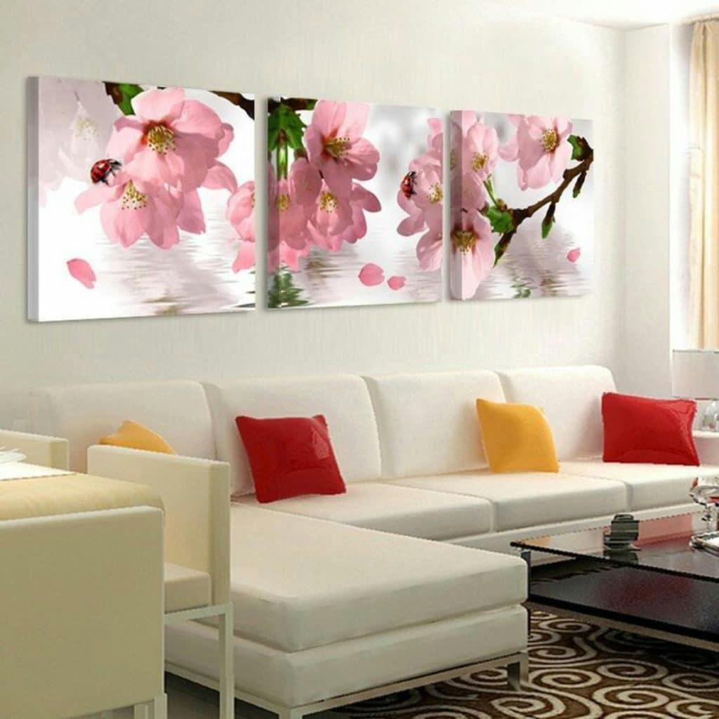 imagenes de cuadros de flores para decoracion