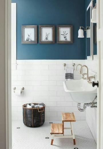imagenes de cuadros para decorar baños