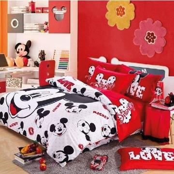 cuartos decorados de mickey mouse para niñas