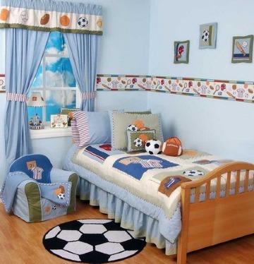 decoracion con colores para recamaras de niños