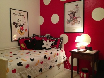 ideas de cuartos decorados de mickey mouse