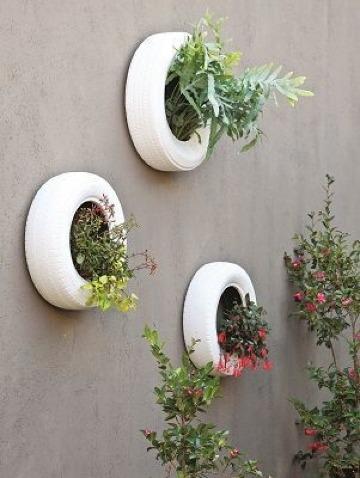 ideas de floreros con material reciclado