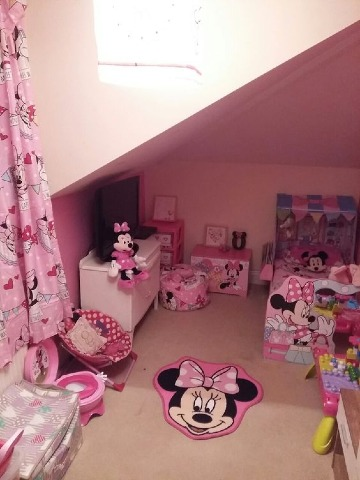 ideas para cuartos decorados de minnie