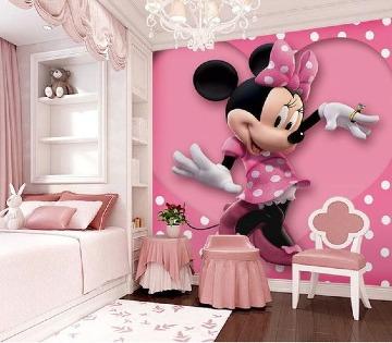imagenes de cuartos decorados de minnie