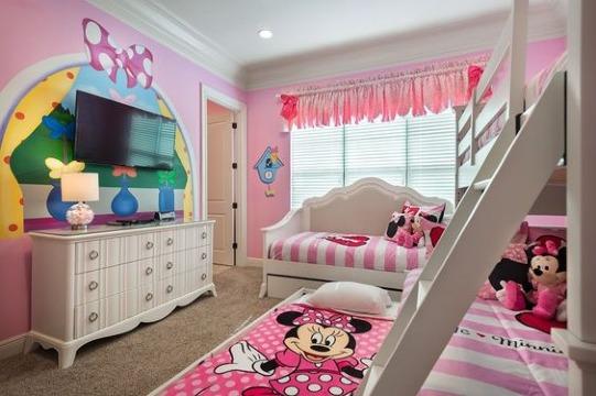 modelos de cuartos decorados de minnie
